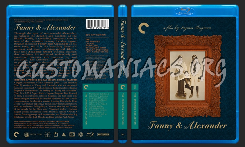 261 - Fanny And Alexander blu-ray cover