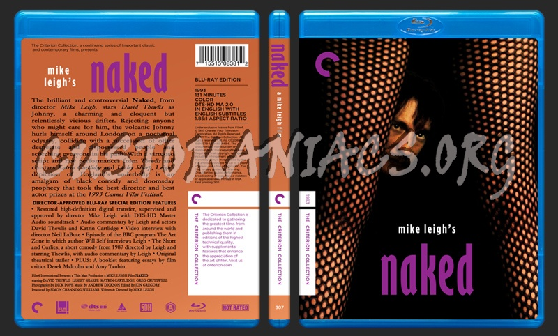 307 - Naked blu-ray cover