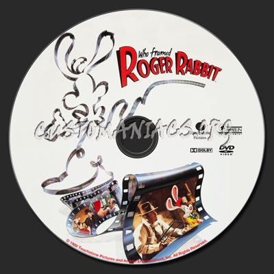 who framed roger rabbit dvd label