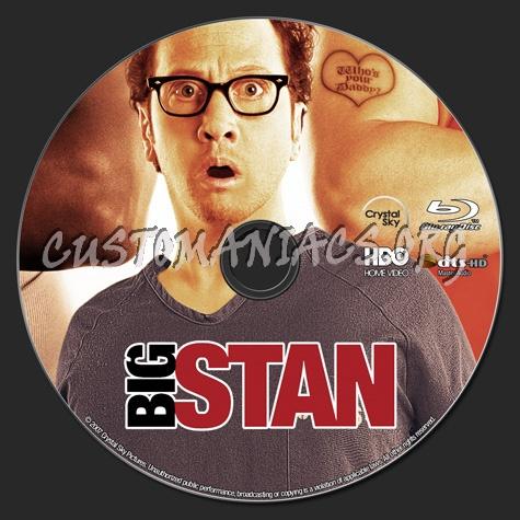 Big Stan blu-ray label