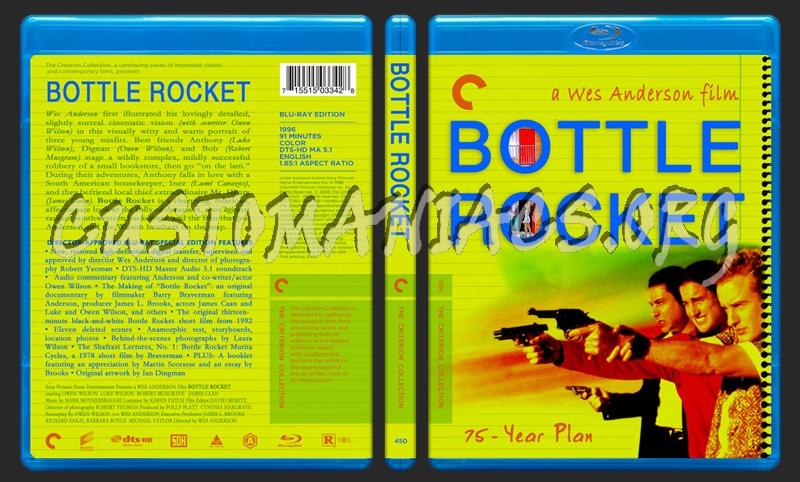 450 - Bottle Rocket blu-ray cover