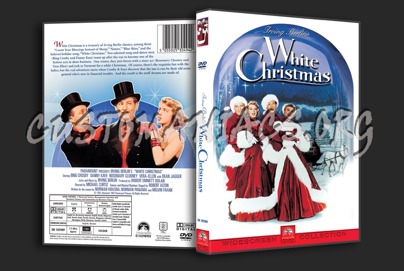 white christmas dvd cover