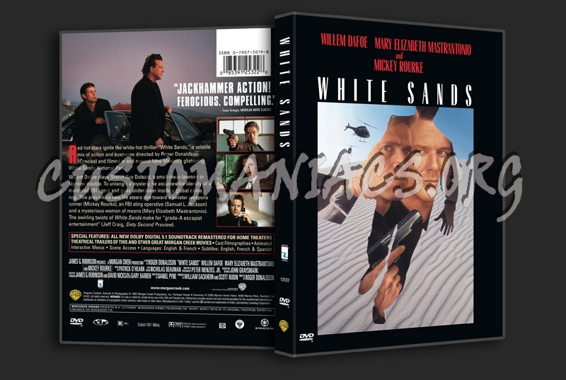 White Sands dvd cover