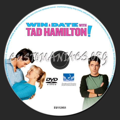 Win a Date With Tad Hamilton! dvd label