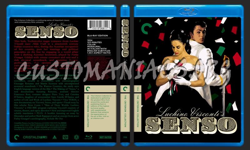 556 - Senso blu-ray cover