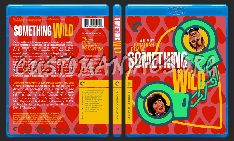 563 - Something Wild blu-ray cover
