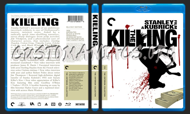 575 - The Killing blu-ray cover