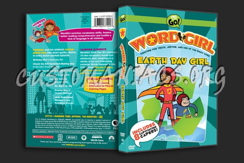 Earth Day Girl Wordgirl