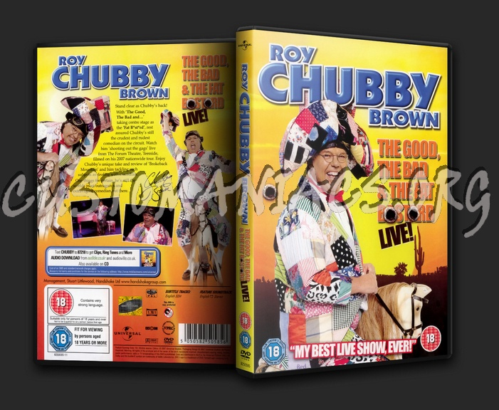 Roy Chubby Brown: The Good The Bad and The Fat Bastard dvd cover