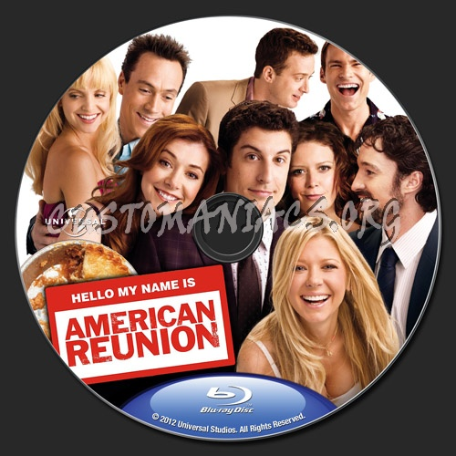 American Reunion Blu Ray Label Dvd Covers Labels By Customaniacs Id 161489 Free Download Highres Blu Ray Label