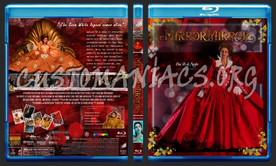 Mirror, Mirror (2012) blu-ray cover