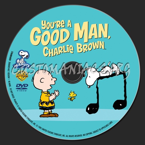 You're A Good Man, Charlie Brown dvd label