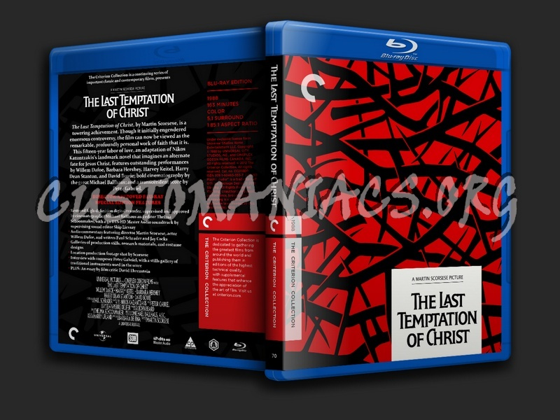 070 - The Last Temptation of Christ blu-ray cover