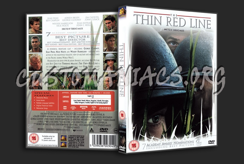The Thin Red Line dvd cover