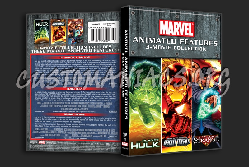 Marvel Animated Features - senchou info