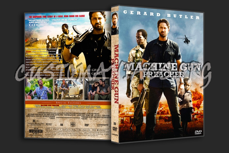 Machine Gun Preacher Dvd Cover Dvd Covers Labels By Customaniacs