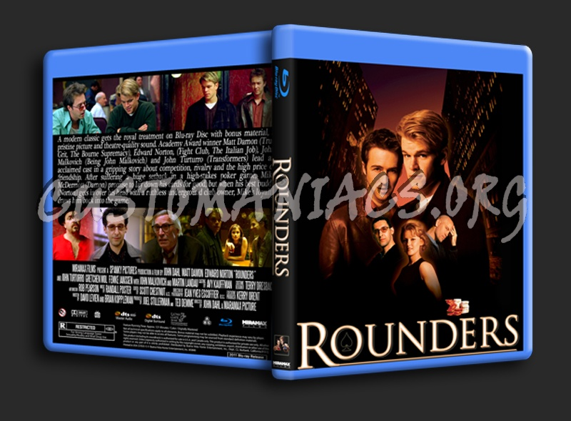 Rounders blu-ray cover