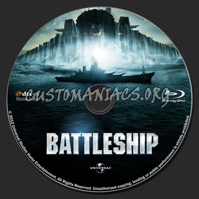 Battleship blu-ray label