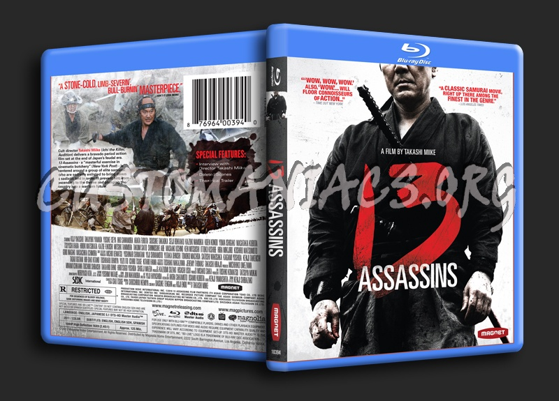 13 Assassins blu-ray cover