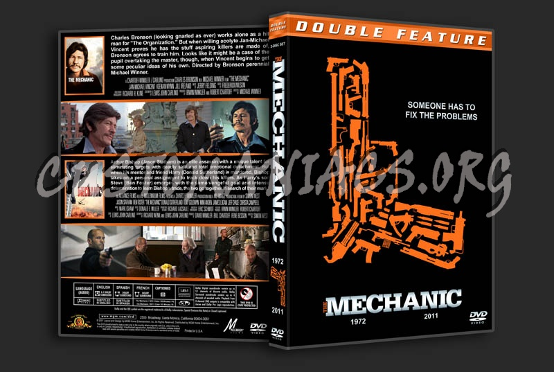 The Mechanic Double Feature dvd cover