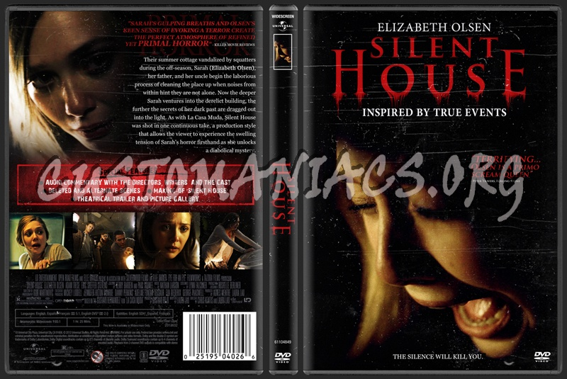 Silent House dvd cover