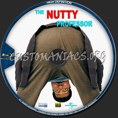 The Nutty Professor blu-ray label