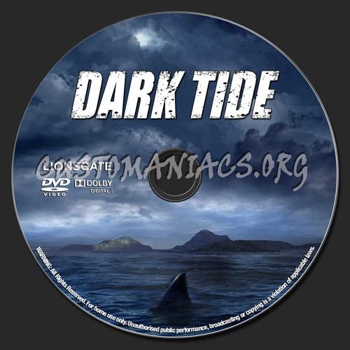 Dark Tide dvd label
