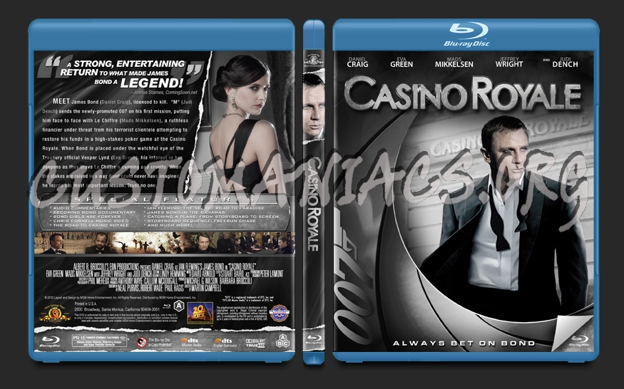 Casino Royale blu-ray cover