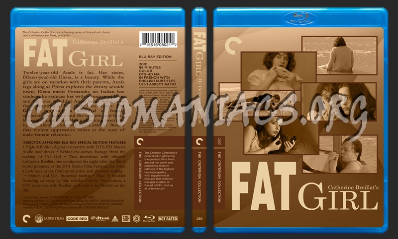 259 - Fat Girl blu-ray cover