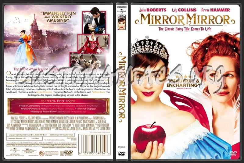 Mirror Mirror dvd cover