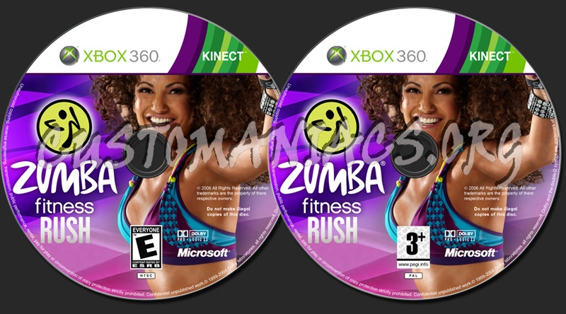 zumba fitness rush dvd label dvd covers labels by customaniacs id 163140 free download. Black Bedroom Furniture Sets. Home Design Ideas