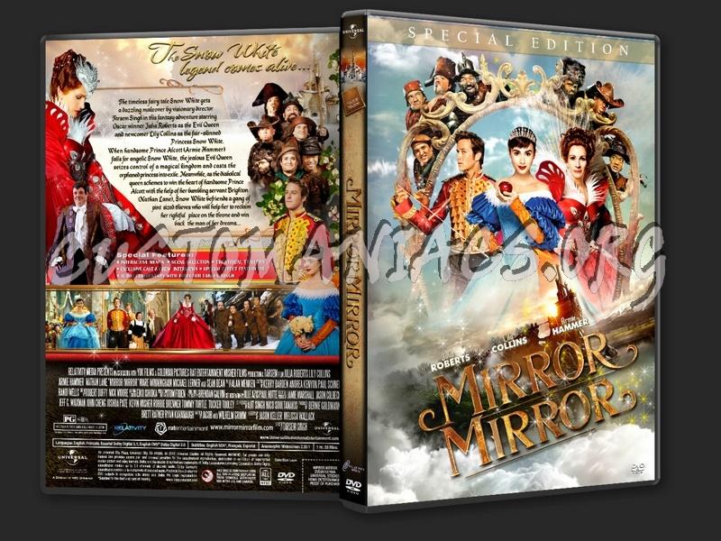 Mirror Mirror (2012) dvd cover