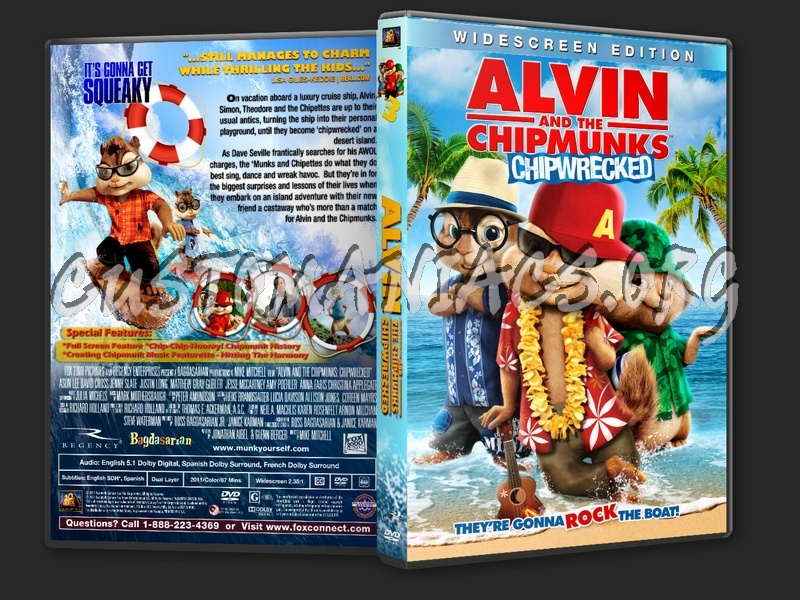 Alvin And The Chipmunks Chipwrecked 2011 Dvd Cover Dvd Covers Labels By Customaniacs Id 163267 Free Download Highres Dvd Cover