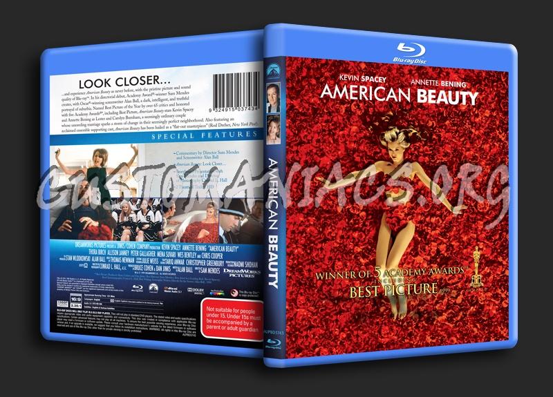 American Beauty blu-ray cover