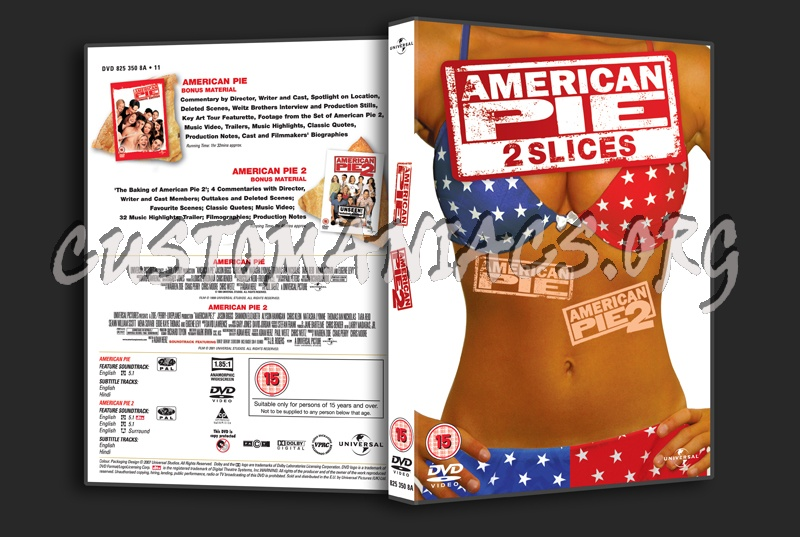 American Pie / American Pie 2 dvd cover