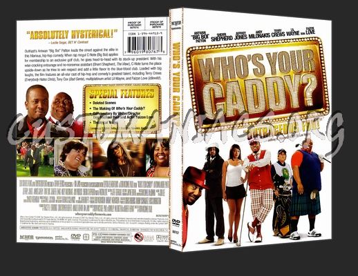 Who's Your Caddy? dvd cover