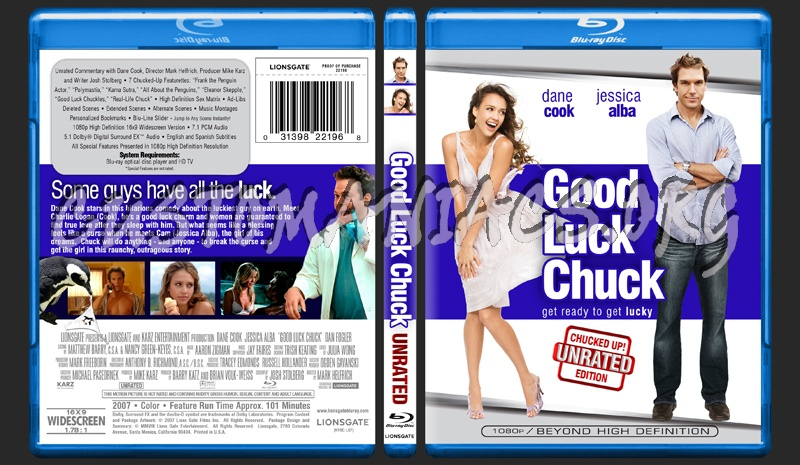 Good Luck Chuck dvd cover - DVD Covers & Labels by ...