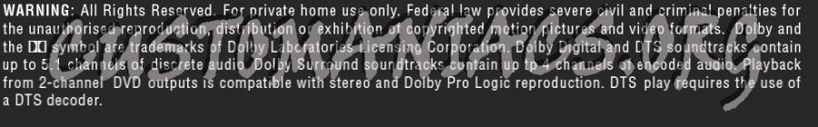Basic Dolby Legals