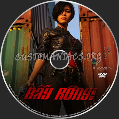 Bay Rong dvd label