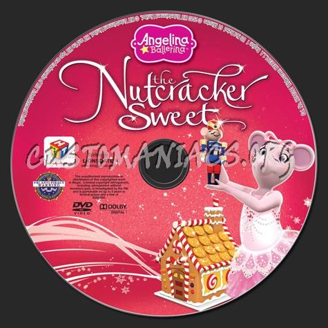 Angelina Ballerina: The Nutcracker Sweet dvd label