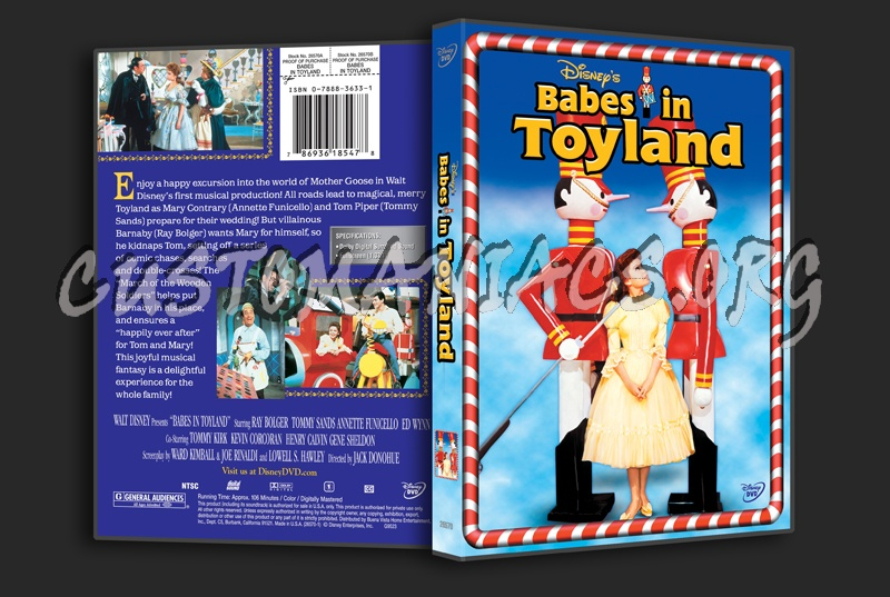 Babes in Toyland dvd cover
