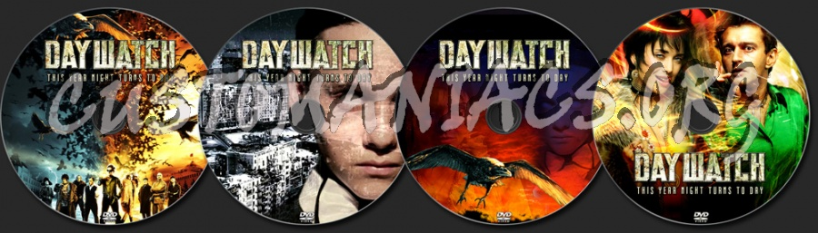 Day Watch dvd label