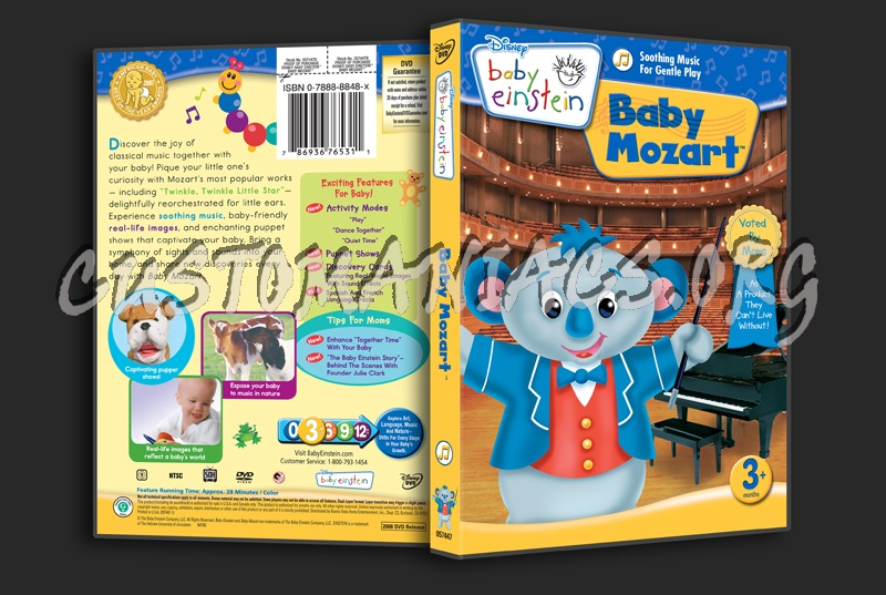 Baby Einstein Baby Mozart Dvd Cover Dvd Covers Amp Labels