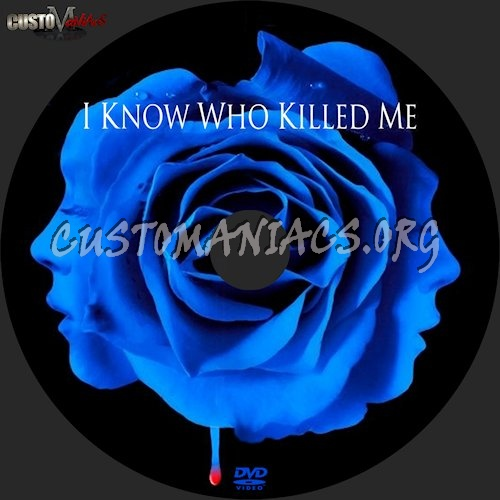 I Know Who Killed Me dvd label