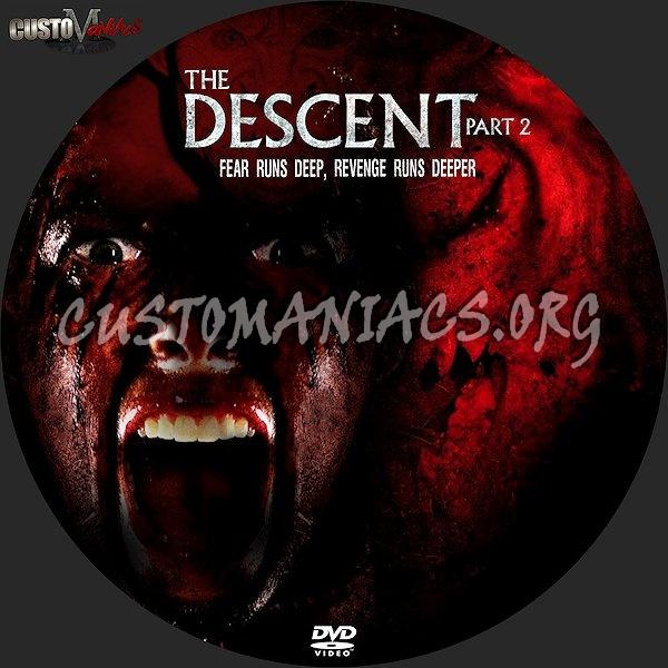 The Descent Part 2 dvd label