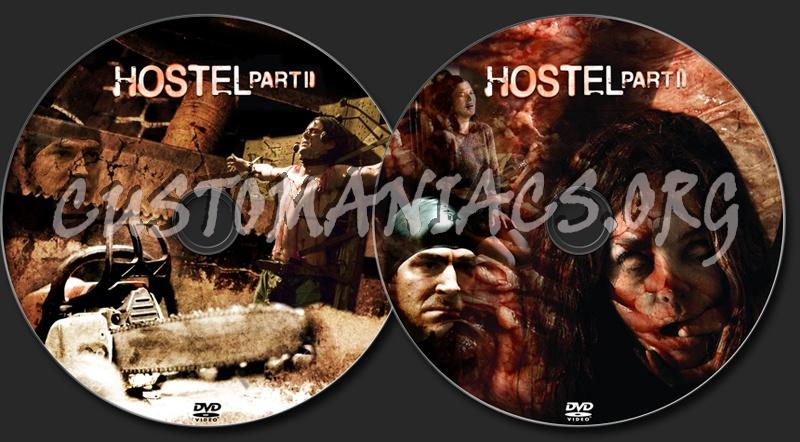 Hostel Part II dvd label