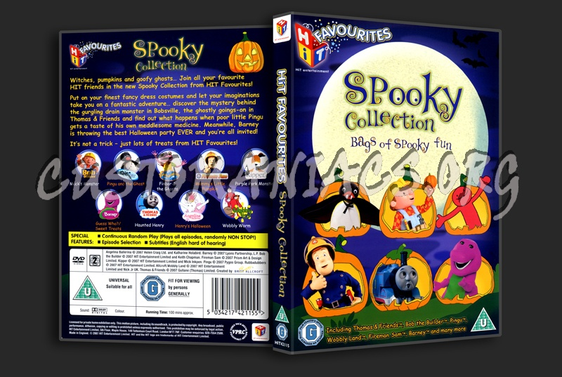 Spooky Collection dvd cover