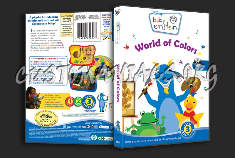 Baby Einstein: World of Colors dvd cover - DVD Covers & Labels by ...