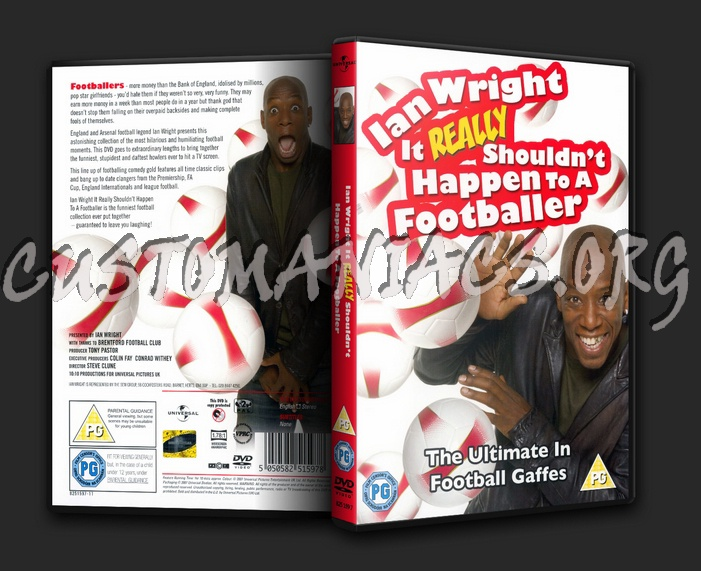 Ian Wright It Really Shouldnt Happen To A Footballer dvd cover