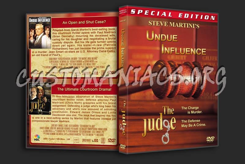 Steve Martini's Undue Influence / The Judge dvd cover